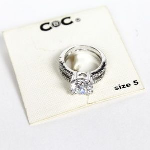 City By City Cubic Zirconia Fashion Ring